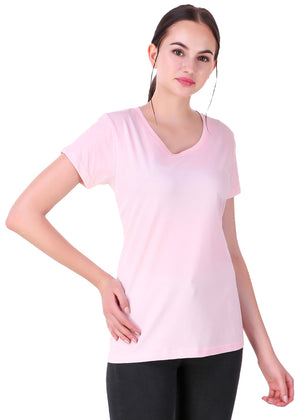 Light-Pink-Short-Sleeve-Plain-T-Shirt-for-Women-Online-at-Gajari.com-The-Best-T-Shirt-Brand-rv