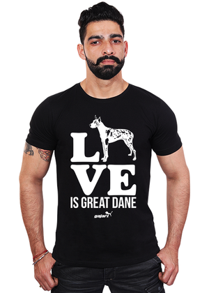 Love-is-Great-Dane,-Great-Dane-Dog-T-Shirt-for-Men