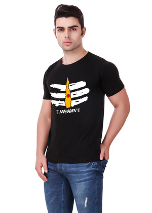 Mahadev-T-Shirt-for-Men-Online-@-Gajari-left-view