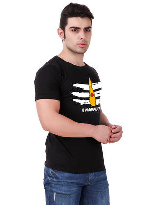 Mahadev-T-Shirt-for-Men-Online-@-Gajari-right-view