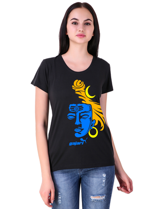Mahakal-T-Shirt-for-Women-Fv