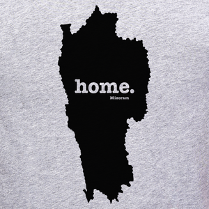 Mizoram home t-shirt graphic