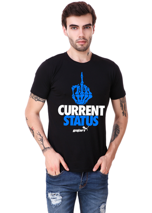My-Current-Status-Half-Sleeve-T-Shirt-for-Men-fv