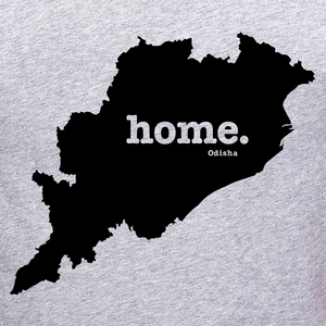 Odisha home tee graphic