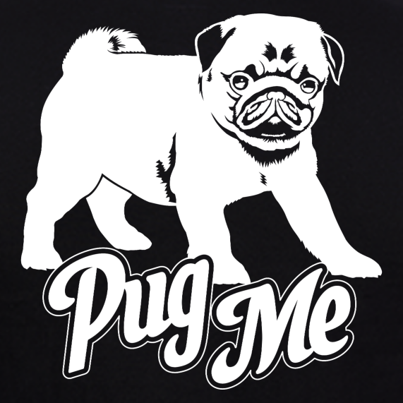 Pug-Me-Pug-Dog-T-Shirts-india-online-for-men-at-gajari-dog-t-shirts-india