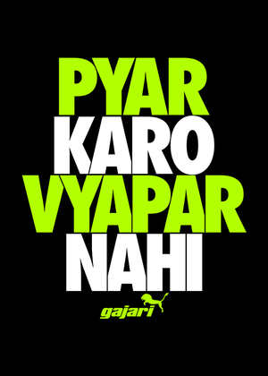 Pyar-Karo-Vyapar-Nahi-Printed-t-shirt-for-men-Online-shopping-India-at-Gajari-the-best-T-Shirt-Brand-Graphic