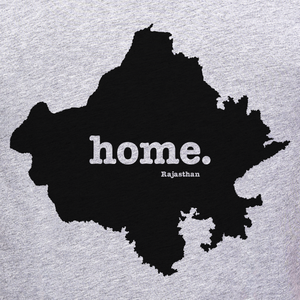 Rajasthan home tee graphic