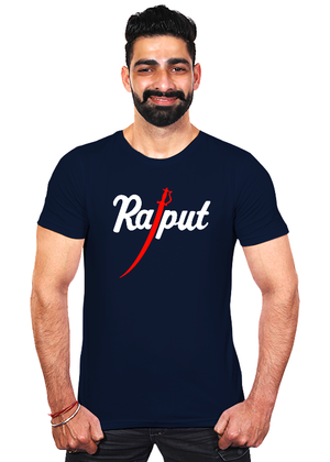 Rajput-T-Shirt-for-Men-India-Online-Shopping-at-gajari-the-best-T-Shirt-Brand-Navy-Blue-fv