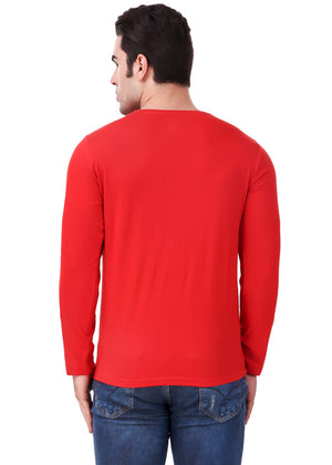 Red-Long-Sleeve-Plain-T-Shirt-for-Men-Online-at-Gajari.com-The-Best-T-Shirt-Brand-bv