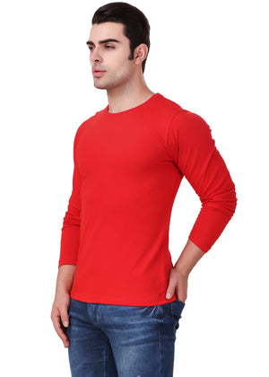 Red-Long-Sleeve-Plain-T-Shirt-for-Men-Online-at-Gajari.com-The-Best-T-Shirt-Brand-lv