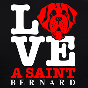 Saint Bernard Dog T-Shirts India online at gajari graphic