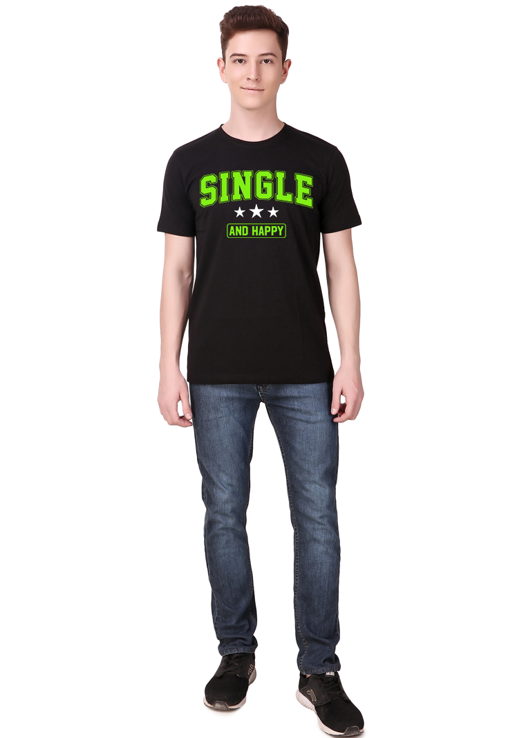 Single-and-Happy-T-Shirt-for-Men-fv