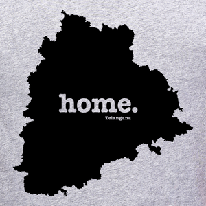 Telangana home tee graphic