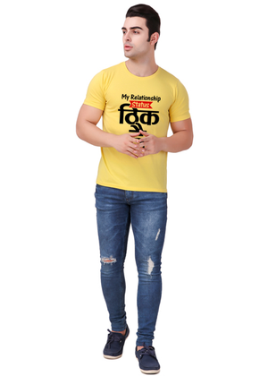 Theek-Hai-T-Shirt-for-Men-Online-Shopping-India-at-Gajari-the-best-t-shirt-brand-front