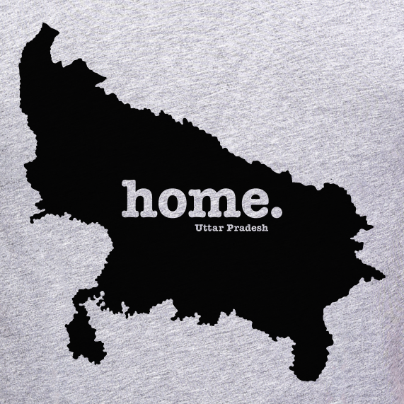 Uttar-Pradesh-Home-T-shirt-online-shopping-India-at-best-price-at-gajari-the-best-apparel-brand