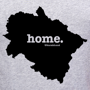 Uttarakhand Home tee graphic