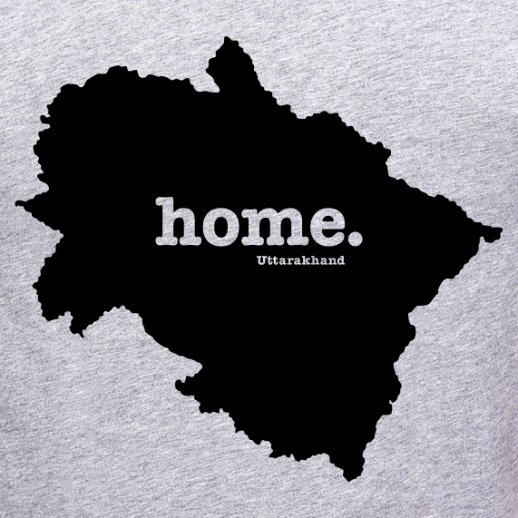 Uttarakhand-Home-t-shirt-online-shopping-India-at-best-price-and-best-apparel-brand