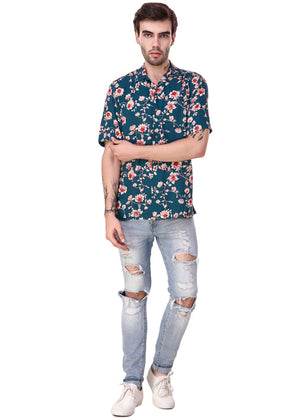 Vintage-Flower-Print-Short-Sleeve-Men-s-Shirt-Online-at-Gajari.com-The-Best-Fashion-Brand-ffv