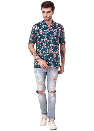 Vintage-Flower-Print-Short-Sleeve-Men-s-Shirt-Online-at-Gajari.com-The-Best-Fashion-Brand-fv1