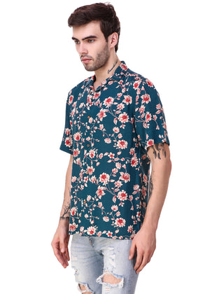 Vintage-Flower-Print-Short-Sleeve-Men-s-Shirt-Online-at-Gajari.com-The-Best-Fashion-Brand-lv