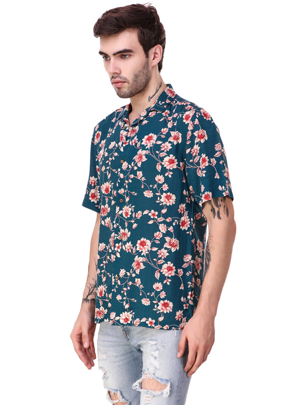 Vintage-Flower-Print-Short-Sleeve-Men-s-Shirt-Online-at-Gajari.com-The-Best-Fashion-Brand-fv