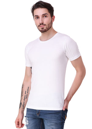 White-Short-Sleeve-Plain-T-Shirt-for-Men-Online-at-Gajari.com-The-Best-T-Shirt-Brand-lv
