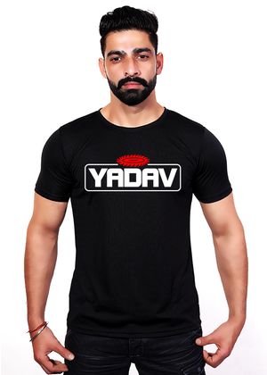 Yadav-T-Shirt-for-Men-Front-Gajari