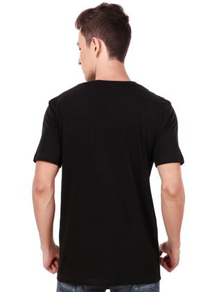 aaj-phir-gaddaro-ki-jalegi-T-Shirt-for-Men-Online-Shopping-India-at-Gajari-back-view