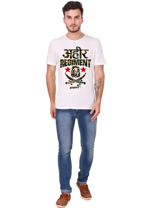 ahir-regiment-t-shirt-Gajari-online-shopping-India-full