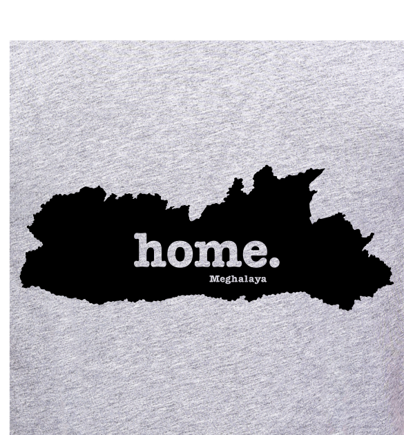 Meghalaya-home-t-shirt-online-shopping-india-at-best-price-at-gajari-the-best-t-brand