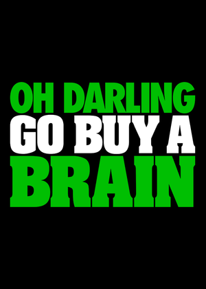 oh-darling-go-buy-a-brain-t-shirt-Online-Shopping-at-Gajari-India-graphic