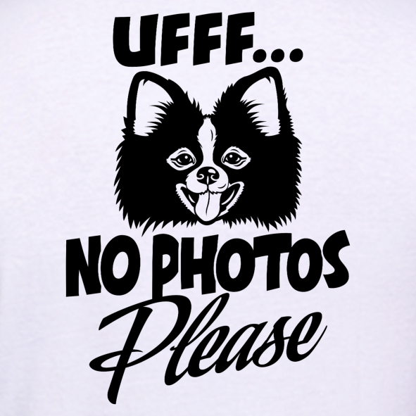 Ufff-No-Photos-Please-Pomeranian-Dog-T-Shirt-for-Men-India-Online