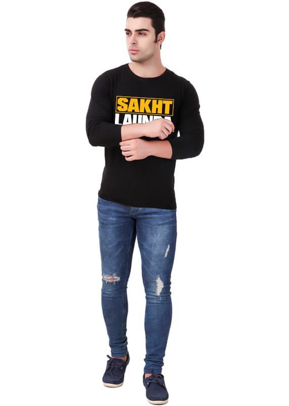 sakht-launda-t-shirt-full-sleeve-front-view