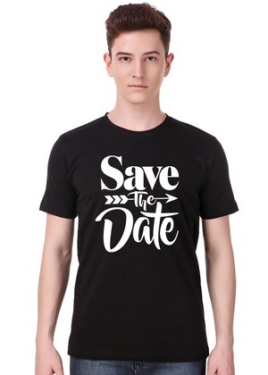save-the-date-pre-wedding-t-shirt---Gajari-front-view
