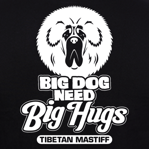 Tibetan-Mastiff-dog-t-shirts-india-online-at-gajari-for-Men