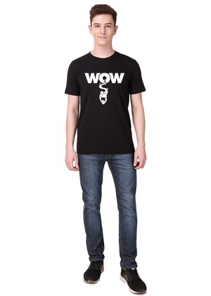 wow-funny-t-shirt-for-men-India-online-shopping-at-Gajari-front-full