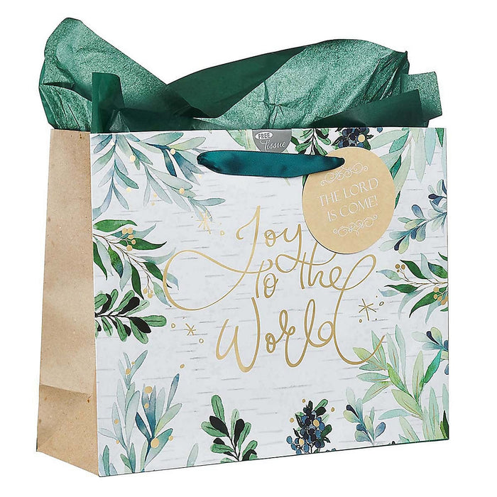 Joy to the World Large Gift Bag