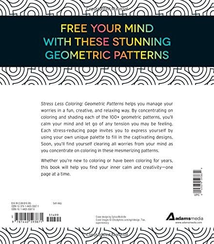 Stress Less Coloring - Geometric Patterns