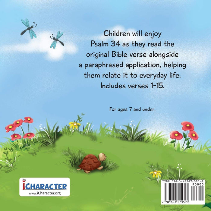 Psalm 34: Bible Chapters for Kids