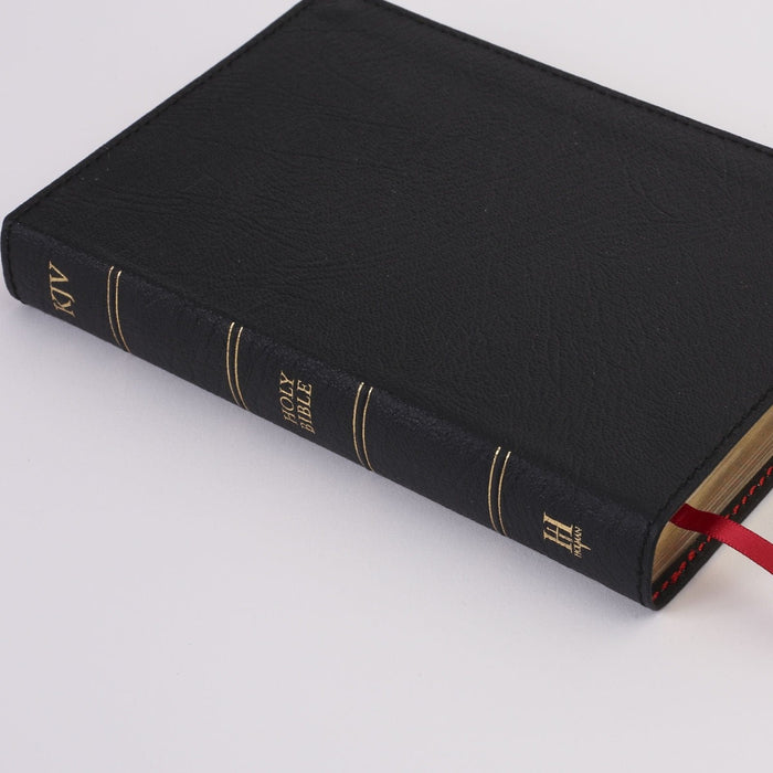 Minister's Pocket Bible: KJV Edition, Black Genuine Leather