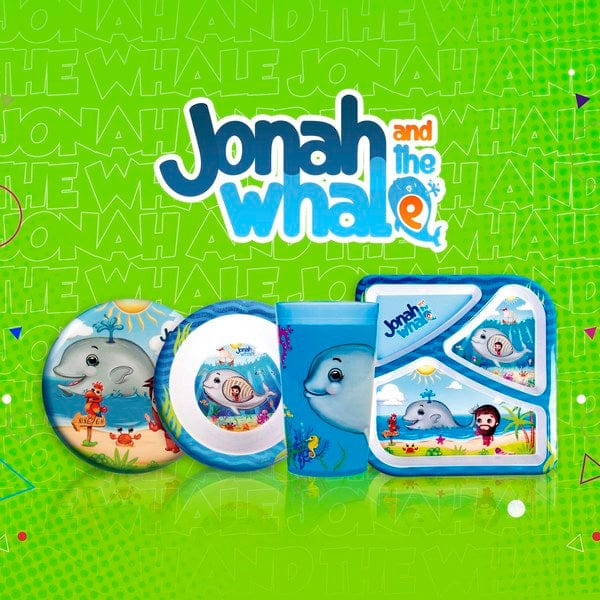 Divided Plate Jonah and the Whale