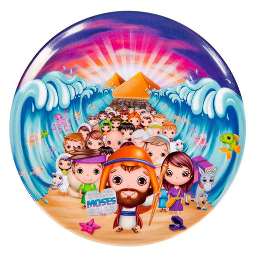 Round Plate Moses