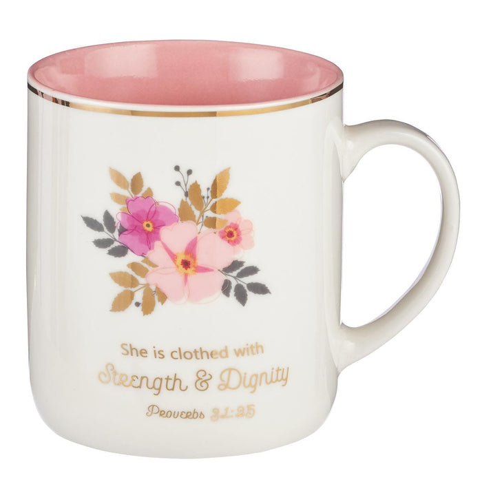 Strength and Dignity  -taza