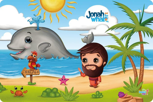 Placemat Jonah and the Whale