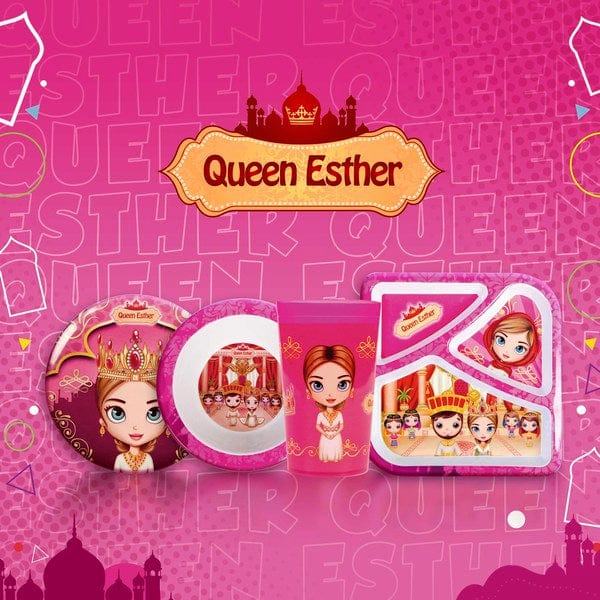 Divided Plate Queen Esther