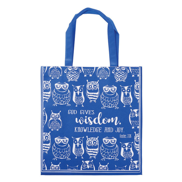 God Gives Wisdom Tote Bag - Ecclesiastes 2:26