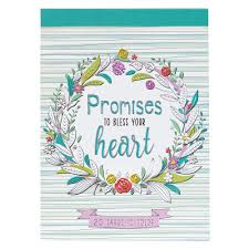 Cards to color Promises to bless your heart