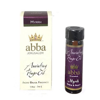 ABBA Anointing Oil Myrrh 1/4 oz Grace & Peace