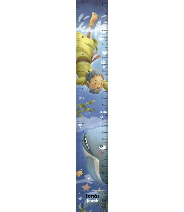 Ruler For Children 3D — Jonah