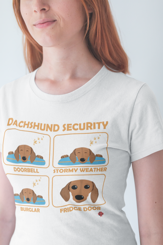 85e35fc8c Custom Dachshund T-Shirt | Dachshund Security | Funny Gift Idea for all  Dachshund Owners and Lovers